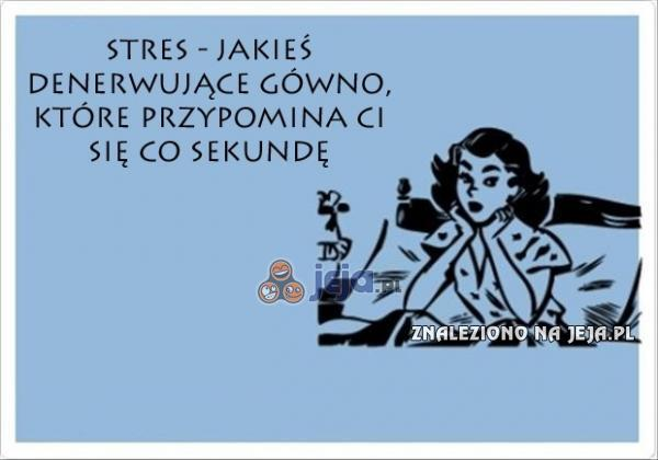 Definicja stresu