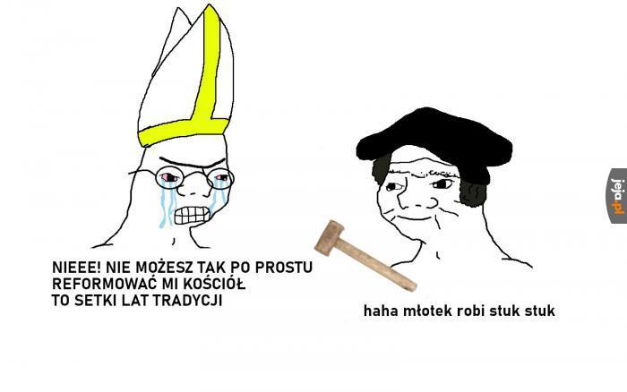 Ach, ten Luter