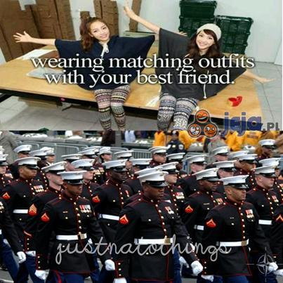 Takie same ubrania