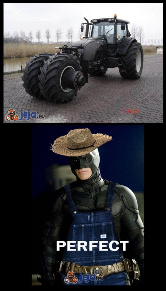 Nowy swojski Batmobil