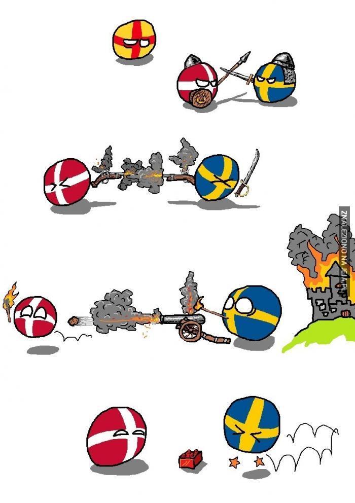 Burzliwa historia Danii i Szwecji
