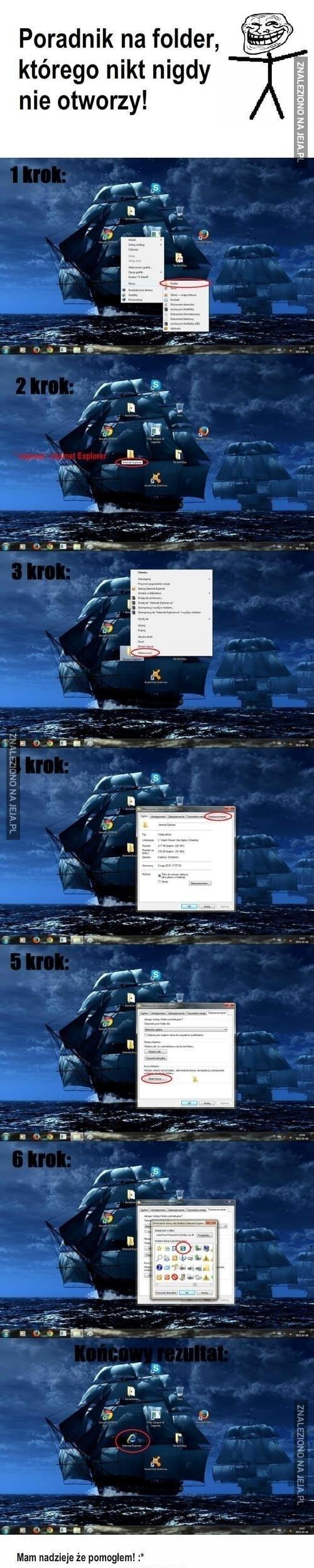 Folder, którego nikt nigdy nie otworzy