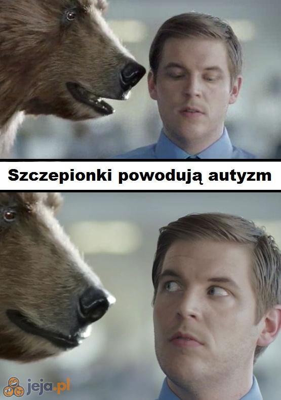 Mylisz się, niedźwiedziu