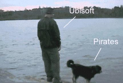 Ubisoft kontra pirat