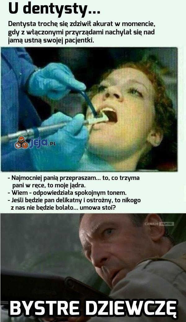 Szach-mat, panie dentysto!
