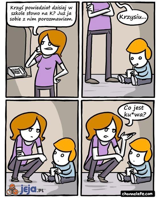 Problem z przeklinającym synem