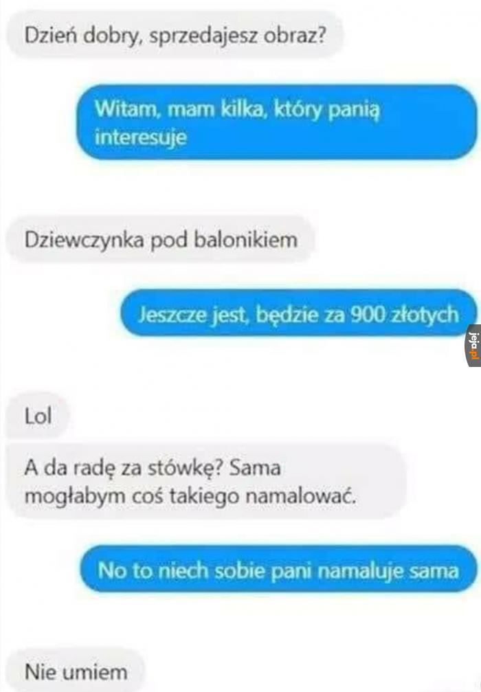 I taka to rozmowa