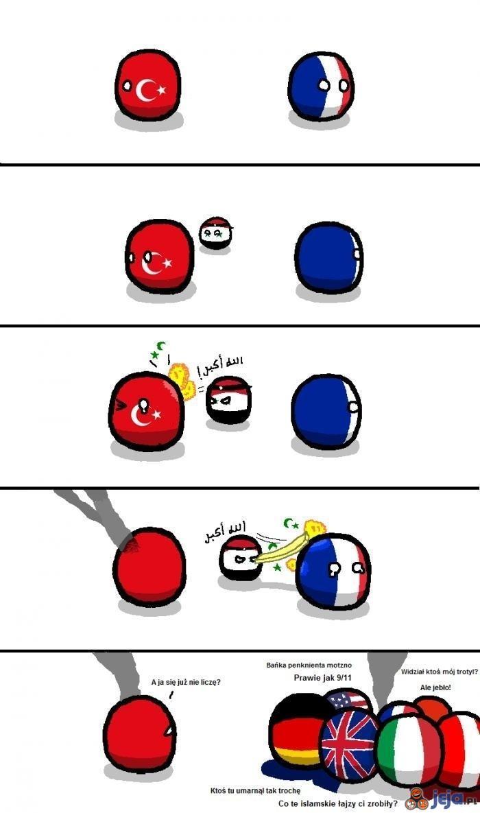 Zamach w Ankarze vs zamach w Paryżu