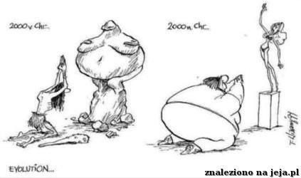 Ewolucja kobiety