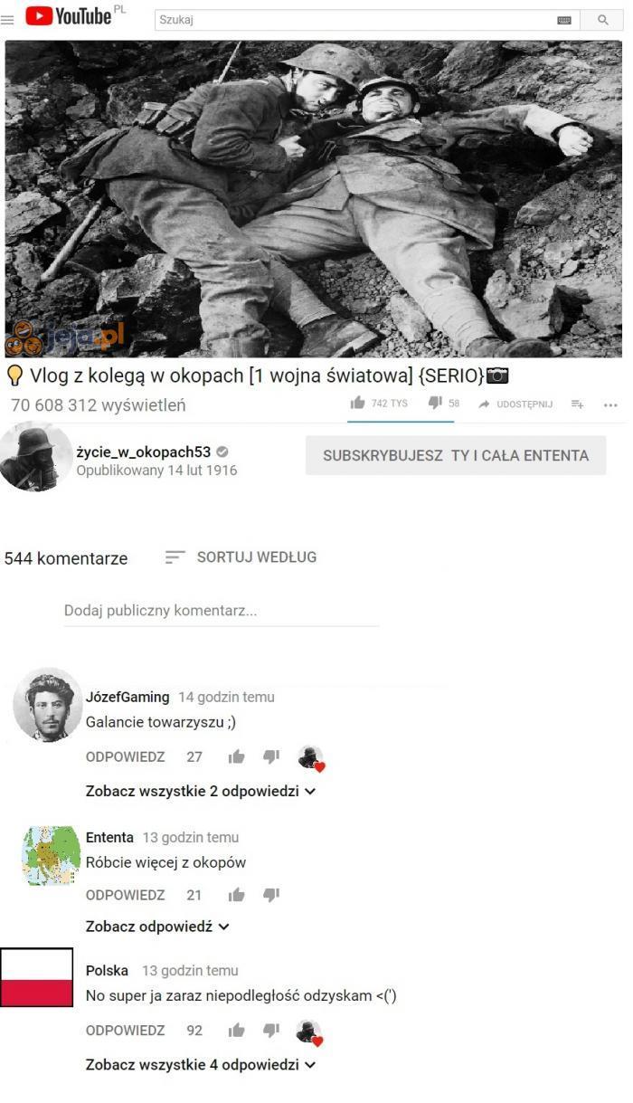 YouTube 1918
