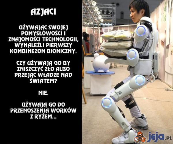Kombinezon bioniczny