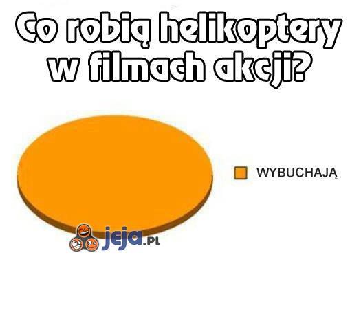 Helikoptery w filmach
