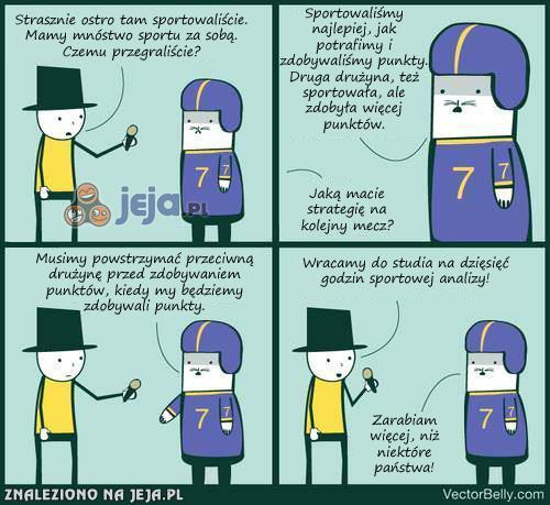 Nie ma to jak wywiad ze sportowcem