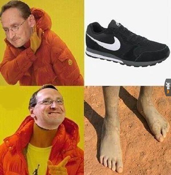 Buty? To nie dla mnie