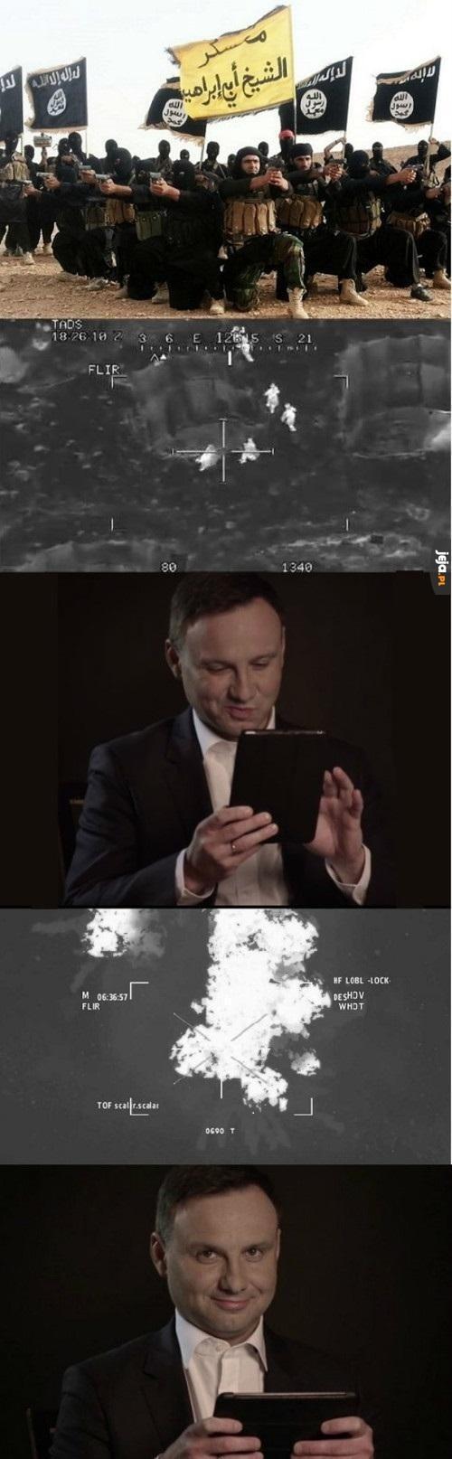 Polski atak rakietowy