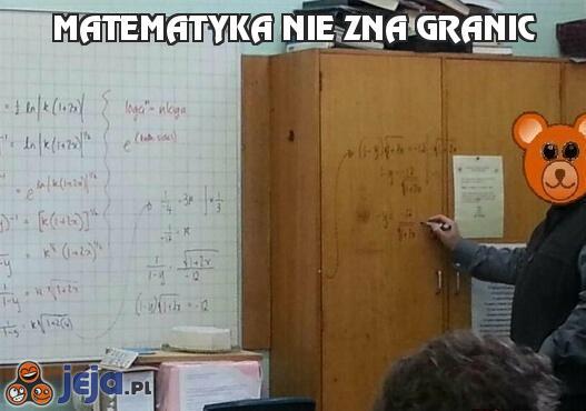 Matematyka nie zna granic