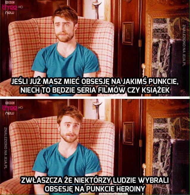 Potter mądrze prawi