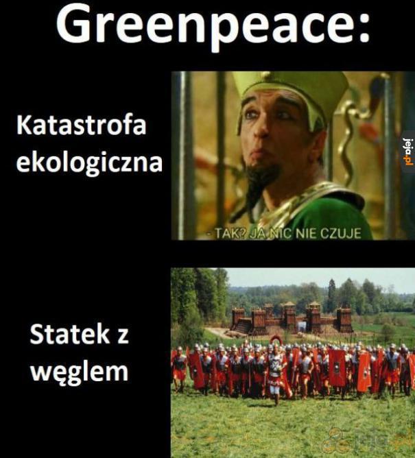 Typowy Greenpeace