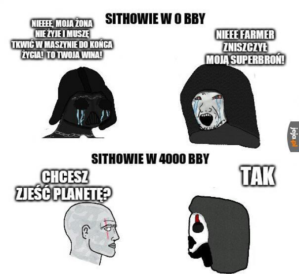Sithowskie śmieszki