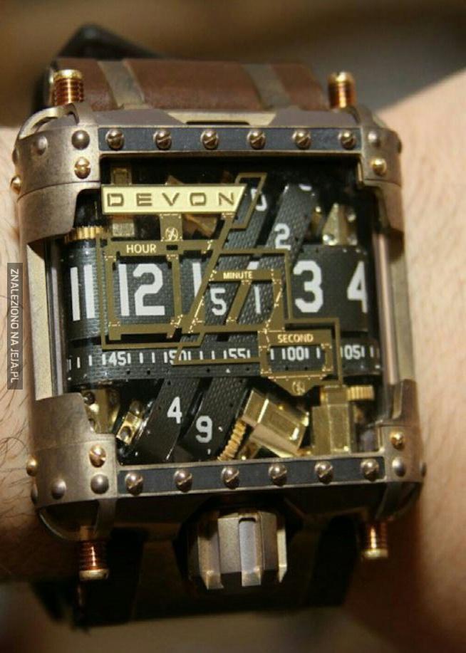 Pomysłowy zegarek