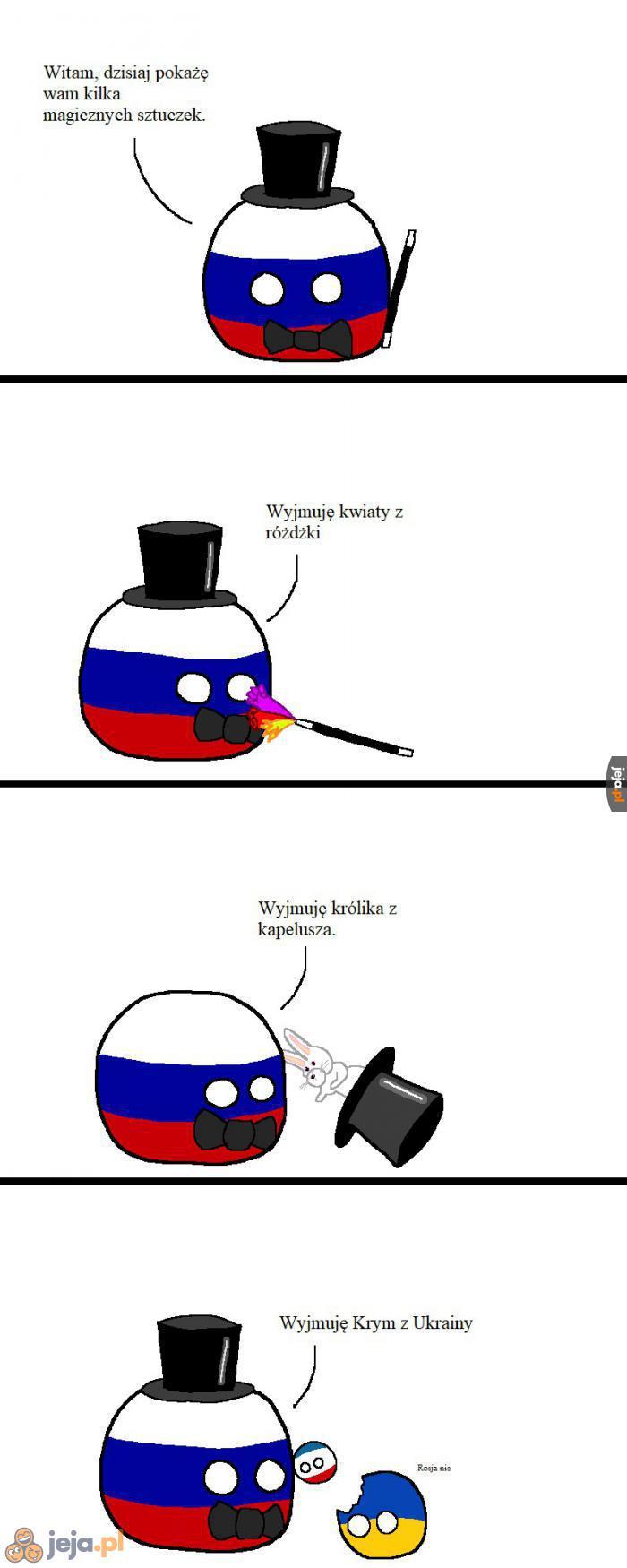 Rosyjska magiczna sztuczka