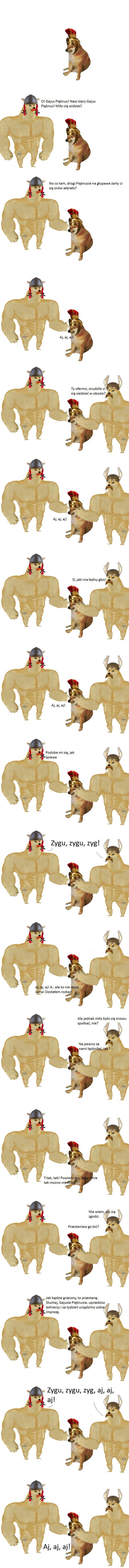 Asterix i Obelix w piesełowej wersji