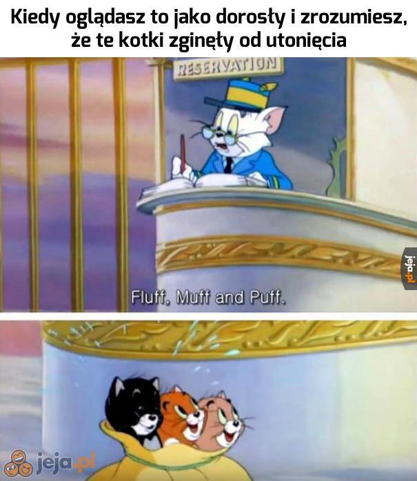 Mroczna strona Toma i Jerry'go