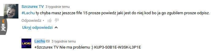 Kod do Fify15
