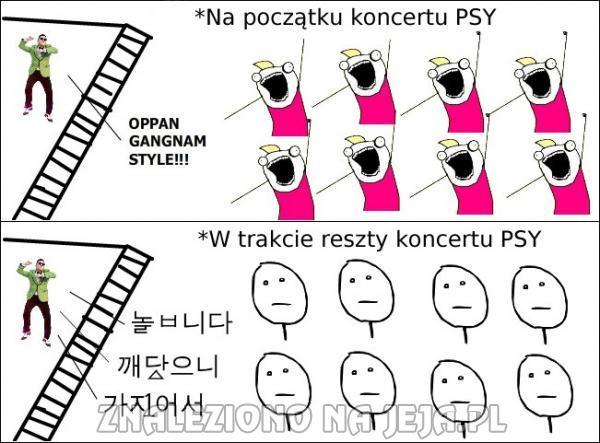 Koncert PSY