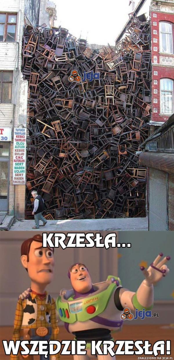Krzesła...