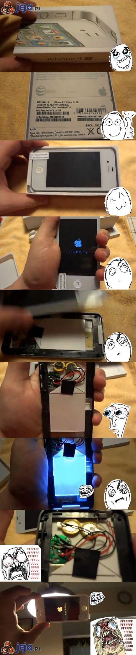 Kupiłem iPhone'a na allegro po okazyjnej cenie...