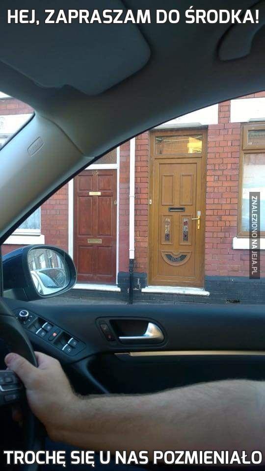 Hej, zapraszam do środka!