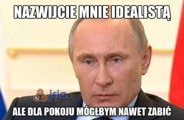 Putin idealista