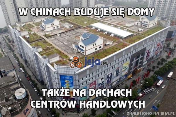 W Chinach buduje się domy...