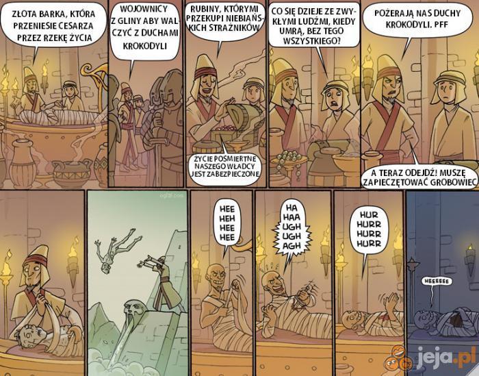 Wieczne życie godne faraona