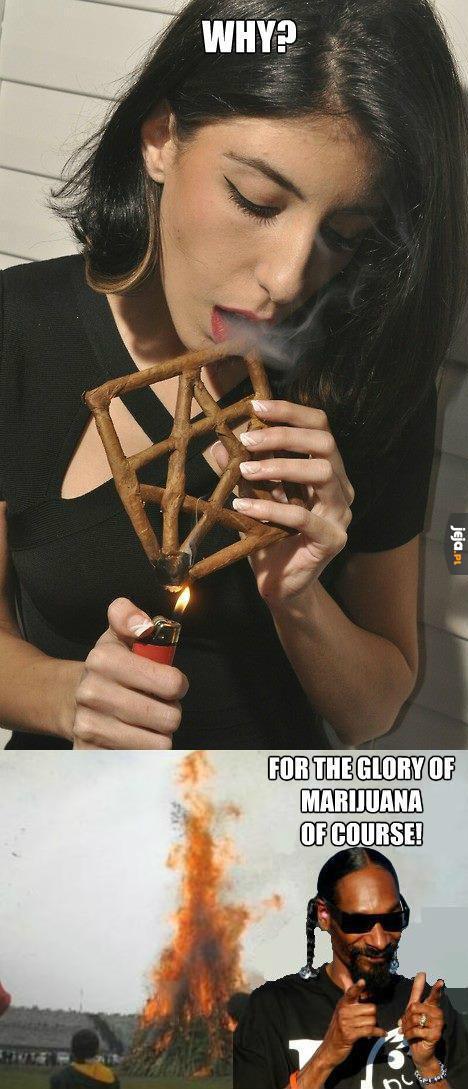 Palenie to chyba już sztuka...