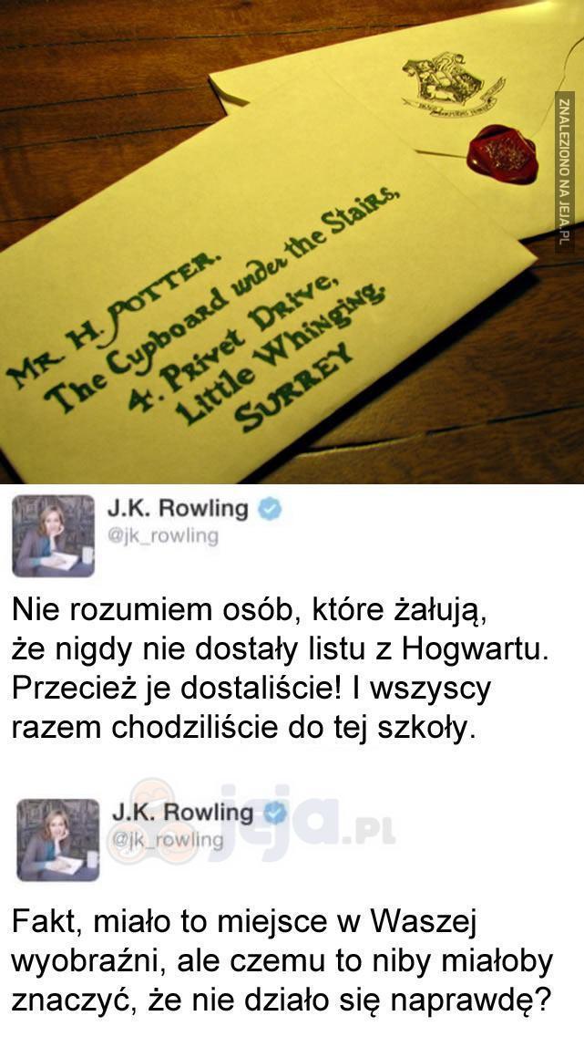 Wszyscy chodziliśmy do Hogwartu