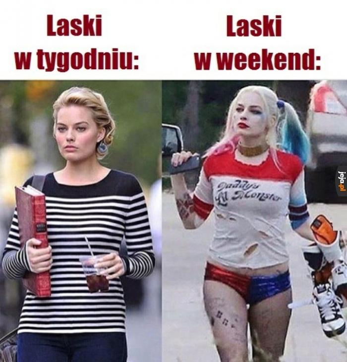 Weekend zmienia