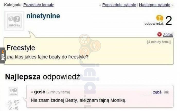 Znacie jakieś Beaty?