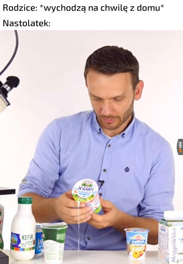 Jogurt bardzo naturalny
