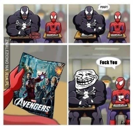 Spiderman w Avengers