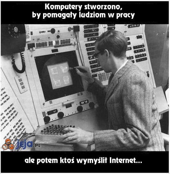 Internet wszystko zepsuł
