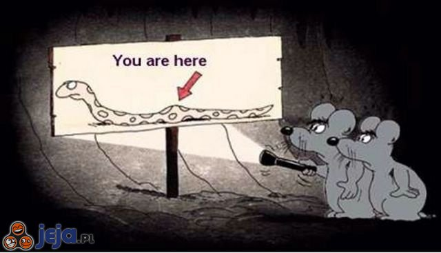 Drogowskaz dla myszy