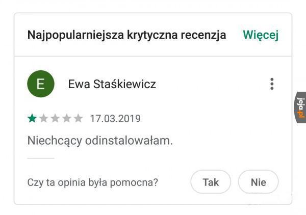 Krytyczna recenzja