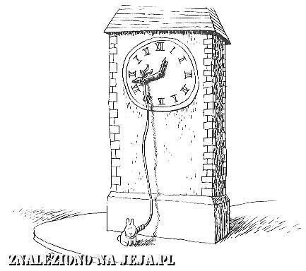 Samobójstwa zajączka: Zajączek i zegarek