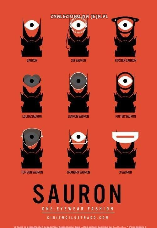 Oblicza Saurona