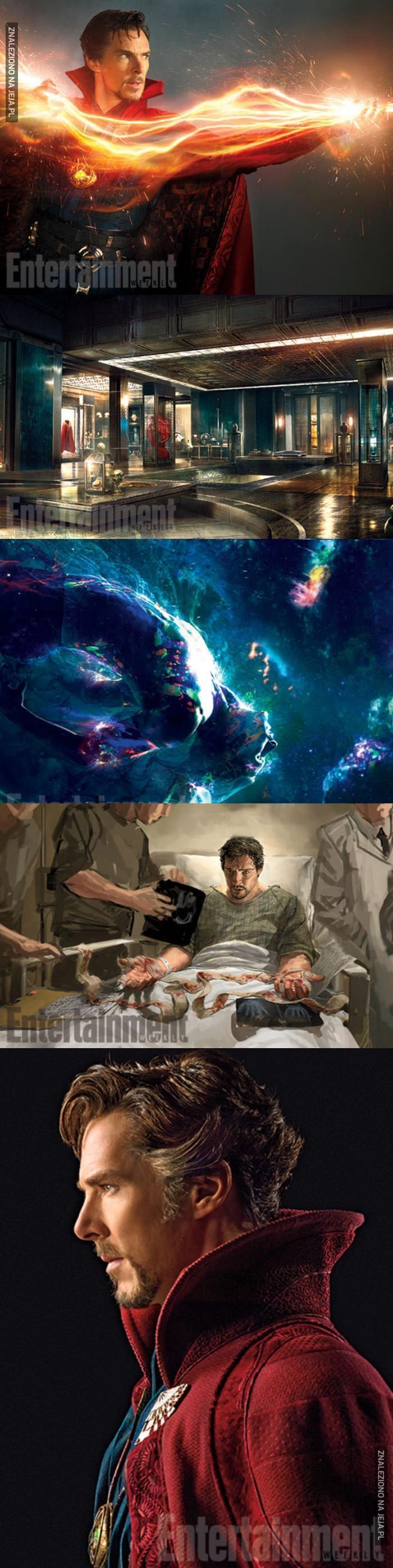 Zdjęcia z planu Doktora Strange'a