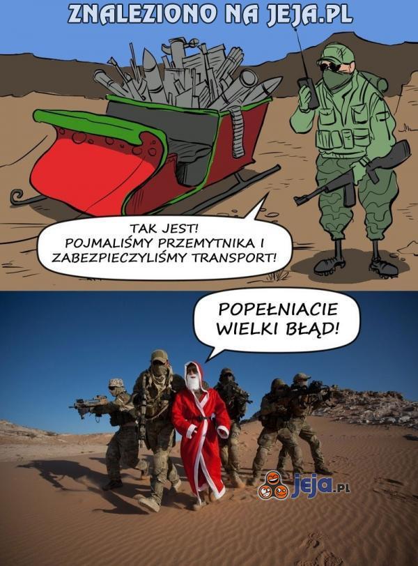 Dodajmy do tego Rudolfa na amfetaminie...