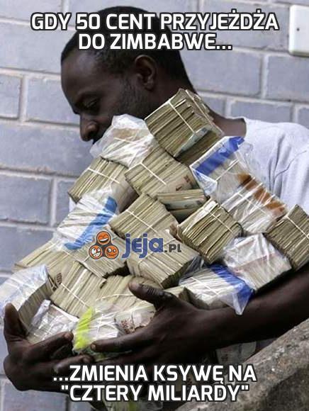 Gdy 50 Cent przyjeżdża do Zimbabwe...