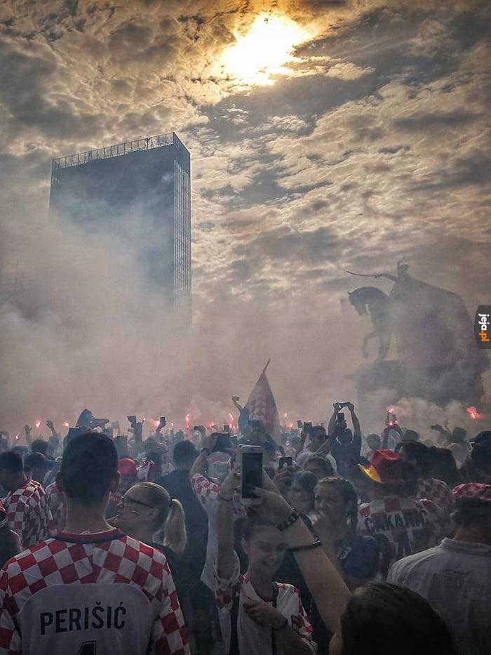 Zagrzeb w ogniu po zdobyciu srebrnego medalu Mistrzostw Świata